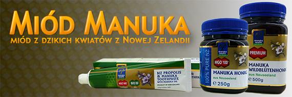 Miód z dzikich kwiatów z Nowej Zelandii