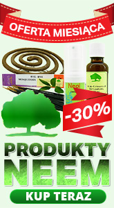 Oferta miesiąca - Produkty Neem -30%