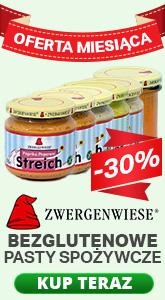 Bezglutenowe pasty spożywcze Zwergenwiese