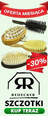 Oferta miesiąca - Szczotki Redecker -30%