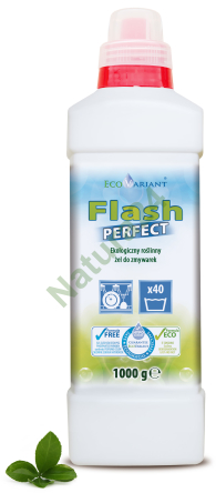 EcoVariant Flash Perfect - ekologiczny żel do zmywarki 1000g